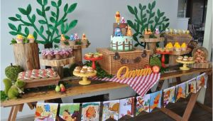 Winnie the Pooh Birthday Party Decoration Ideas Kara 39 S Party Ideas Rustic Winnie the Pooh 1st Birthday