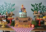 Winnie the Pooh Decorations 1st Birthday Kara 39 S Party Ideas Rustic Winnie the Pooh First Birthday