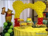Winnie the Pooh Decorations 1st Birthday Winnie the Pooh Birthday Quot Winnie the Pooh First Birthday