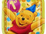 Winnie the Pooh Decorations 1st Birthday Winnie the Pooh Boys First Birthday Party Supplies