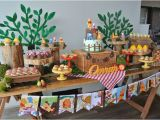 Winnie the Pooh Decorations for Birthday Kara 39 S Party Ideas Rustic Winnie the Pooh 1st Birthday