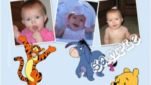 Winnie the Pooh First Birthday Invitations Winnie the Pooh Birthday Invitations Characters