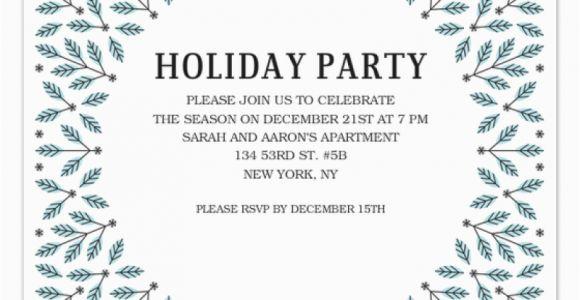 Winter Birthday Invitation Template Winter Party Invitation Template orderecigsjuice Info