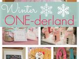 Winter Wonderland 1st Birthday Decorations Winter One Derland First Birthday Pretty My Party