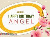 Wish U Happy Birthday Quotes Wish U Happy Birthday Angel Happybirthdayangel Com