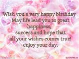 Wish U Happy Birthday Quotes Wish You A Very Happy Birthday Pictures Photos and