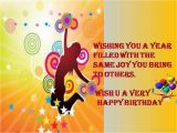Wish Ua Very Happy Birthday Quotes Birthday Wishes with Quotes Pictures Images Photos