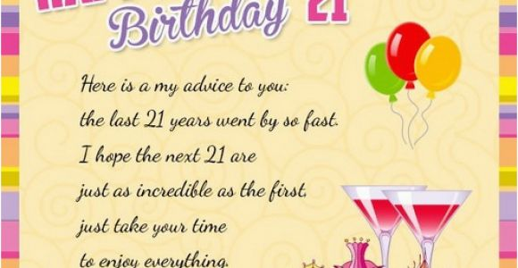 Wishes for 21st Birthday Girl 21st Birthday Quotes and Wishes Wishesgreeting
