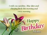 Wishing Mom Happy Birthday Quotes Happy Birthday Mom Wishes Quotes Sms Messages with