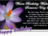 Wishing someone A Happy Birthday Quotes Inspirational Birthday Quotes Quotesgram