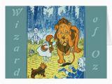Wizard Of Oz Birthday Cards Wizard Of Oz Greeting Card Zazzle