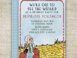 Wizard Of Oz Birthday Party Invitations Wizard Of Oz Birthday Party Invitations Ruby Slipper Custom
