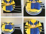 Wolverine Birthday Party Decorations Wolverine Cake Cakes Pinterest Wolverine Cake Cake