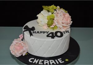 Womans 40th Birthday Ideas Cake For Women A