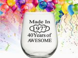 Womans 40th Birthday Ideas 40th Birthday Gifts for Women 40th Birthday Gift for Men
