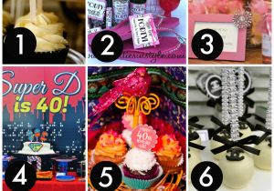Womans 40th Birthday Ideas the 12 Best 40th Birthday themes for Women Catch My Party