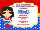 Wonder Woman Birthday Card Printable Printable Wonder Woman Birthday Party Invitation Plus Free