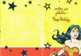 Wonder Woman Birthday Card Printable Wonder Woman Birthday Greeting Card 6 42 Picclick Uk
