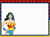 Wonder Woman Birthday Card Printable Wonder Woman Retro Party Free Printable Boxes and Free