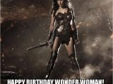 Wonder Woman Birthday Meme Happy Birthday Wonder Woman Make A Meme