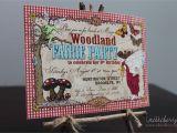 Woodland themed Birthday Invitations Woodland Fairy Birthday Party