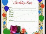 Word Birthday Invitation Template 50 Printable Birthday Invitation Templates Sample Templates