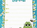 Word Birthday Invitation Template Birthday Party Invitation Template Birthday Party