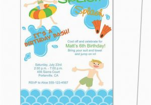 Word Birthday Invitation Template Party A Cake