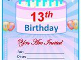 Word Birthday Invitation Template Sample Birthday Invitation Template 40 Documents In Pdf