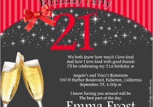 Wording for 21st Birthday Invitation 21st Birthday Party Invitation Wording Wordings and Messages