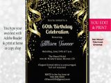 Wording for 60th Birthday Party Invitations 60th Birthday Invitation 60th Birthday Party Invitation 60th