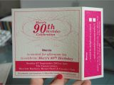 Wording for 90th Birthday Party Invitations 90th Birthday Invitation Wording Cimvitation