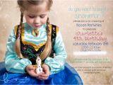 Wording for Frozen Birthday Invitations Charlotte S 4th Frozen Birthday Party