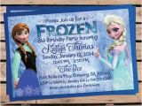 Wording for Frozen Birthday Invitations Disney Frozen Birthday Invitation Wording