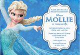 Wording for Frozen Birthday Invitations Elsa Frozen Birthday Party Invitation Ideas Bagvania