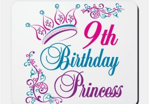Words for A Birthday Girl Happy 9th Birthday Birthday Cards Messages Sayings