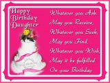 Words for Daughters Birthday Card Birthday Wishes for Step Daughter Birthday Images Pictures