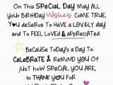 Words to Put In A Birthday Card On Your Birthday Inspired Words Greeting Card Blank Inside