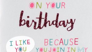 Words to Say In A Birthday Card Special Weird Friend Birthday Card Second Nature More Than