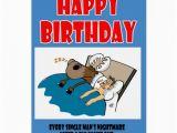 Worst Birthday Card Mans Worst Nightmare Greeting Card Zazzle