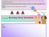 Writing A Birthday Invitation Creative Writing Birthday Party Invite 16 A1 Level