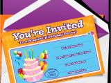 Writing Birthday Invitations Dynamic Birthday Party Invitations Part Show Part