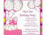 Writing Birthday Invitations Invitation for Birthday