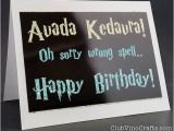 Wrong Cards Birthday 17 Best Ideas About Harry Potter Happy Birthday On