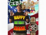 Wwe Birthday Cards Any Photo Personalised Wwe John Cena A5 All Happy Birthday