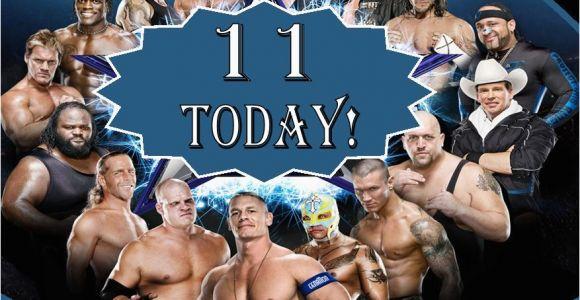 Wwe Birthday Cards Personalised Wwe Wrestlemania Birthday Card