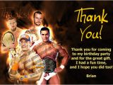 Wwe Birthday Cards Wwe Invitations John Cena the Rock Daniel Bryan and More