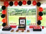 Wwe Birthday Decorations 17 Wild Wwe Birthday Party Ideas Spaceships and Laser Beams
