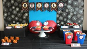 Wwe Birthday Decorations Wwe Birthday Party Ideas for Kids Moms Munchkins