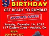 Wwe Birthday Invites Wwe Birthday Party Invitations Best Party Ideas
